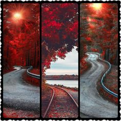 Grid, Country Roads, Painting, Painting Art, Paintings, Painted Canvas