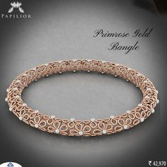 Diamond Jewelry A piece that would reflect your sense of style… Gold Bangles For Women, Gold Bangles Design, Gold Jewellery Design, Stylish Jewelry, Fashion Jewelry, Fine Jewelry, Diamond Bangle, Diamond Rings, Diamond Jewelry
