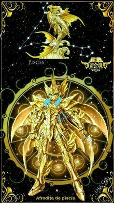 Pisces Aphrodite - Saint Seiya Soul of Gold Gundam Wallpapers, Animes Wallpapers, Angel Warrior, Fantasy Warrior, All Anime, Anime Art, Knights Of The Zodiac, Alternative Comics, Black Anime Characters