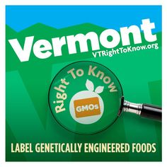VT Right To Know GMOs  BREAKING NEWS! VT House Ag Committee just voted 8-3 to pass the GMO labeling bill! Please thank members of the Committee and prepare to contact your legislators at home during Town Mtg week. On we go!    Find out more about our coalition and join us: http://www.vtrighttoknow.org/