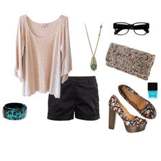 girls night out, created by kaylyn-corbin on Polyvore