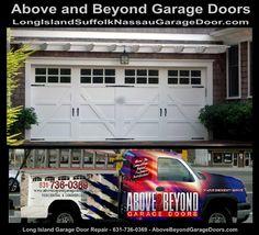 Carriage Style Garage Doors, Commercial Garage Doors, Garage Door Repair, Long Island Ny, Curb Appeal, Landscaping, Diy Projects, Exterior, Craft