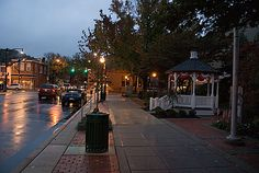 Sewickley - a rainy evening.