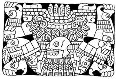Tlaltecuhtli, Earth Lord, is always pictured as female.