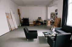 Freunde von Freunden — Tim Eitel — Artist, Studio & Gallery, Kreuzberg & Mitte, Berlin — http://www.freundevonfreunden.com/workplaces/tim-eitel/