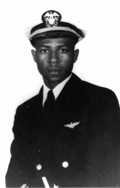Jesse LeRoy Brown October 1926 – 4 December was a United States Navy officer. He was the first African-American aviator in the U. Navy, a recipient of the Distinguished Flying Cross, and the first African-American naval officer killed in the Korean War. American Veterans, American Soldiers, Nasa History, Unsung Hero, Black History Facts, United States Navy, Korean War, Man United, African American History