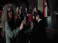 First Divination Lesson - Sibyl Trelawney (Emma Thompson) - YouTube
