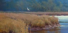 Cindy Baron | Solo Flight. Oil on Canvas
