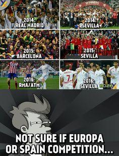Europe < La Liga