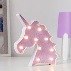 BigBuy Home Illuminated Unicorn Glitter LED) If you want to add a touch of originality to your home, you will do so with Illuminated Unicorn Glitter . Lampe Led, Led Lamp, Lampe Tactile, Tube Led, Unicorn And Glitter, Plastic Design, Black Lamps, Gadgets, Games
