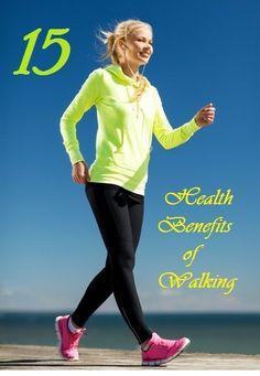 Top 15 Health Benefits of Walking