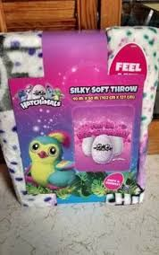 Image result for hatchimals throw blanket