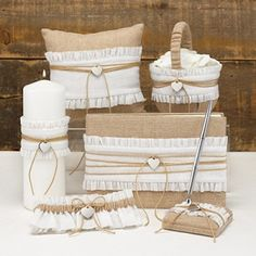 Rustic Chic Burlap Wedding Collection
