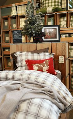 Scenes from the L.L.Bean HOME store in Freeport, Maine - Christmas 2014