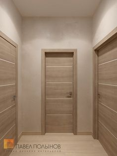 "Photo of the hall interior from the project ""Design of an apartment in a modern style, LCD"" H Oak Interior Doors, Door Design Interior, Hall Interior, Home Room Design, Apartment Interior, Living Room Designs, House Design, Bedroom Door Design, Wooden Door Design"