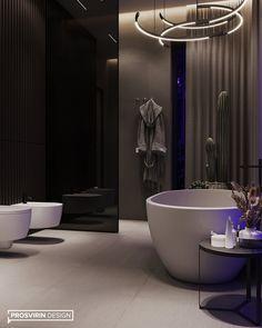 Luxury Lighting, Modern Lighting, Washroom Design, Mansion Interior, Family House Plans, Bathroom Spa, Modern Luxury, Woodland, Modern Design
