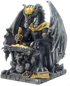 Royal Dragon Of Wisdom Statue