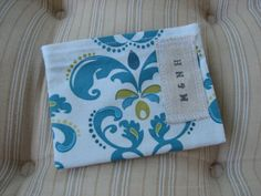 Teal Lily Mini Snack Bag by MamaandNonni on Etsy, $3.00