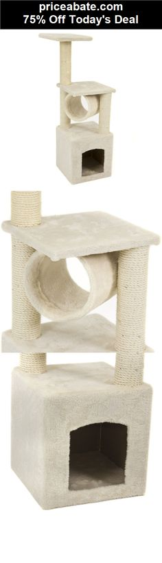 """75% Off Deluxe Cat Tree 36"""" Condo Furniture Scratching Post Pet House Play Toy - eBay Daily Deal! - #priceabate! BUY IT NOW ONLY $24.99"""