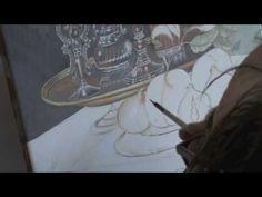 Pittura su ceramica / ceramic painting (2) - YouTube