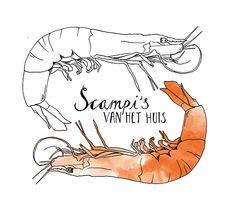 #11. Scampi. by Annemarie Gorissen