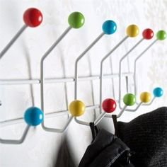Colorful Wall Hooks canteen hook and knob | hatch office | pinterest | hooks, products