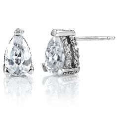 Pear Cut Studs Need to match my engagement ring :-)