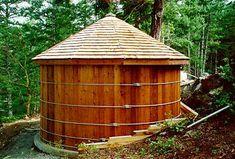 Wooden Water Cisterns