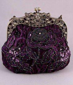 5628b6a07da39 Beaded Clutches Purses Beaded Evening Bag Clutch Purse Satin Rhineston Clutch  Purse ~ So Downton Abbey!