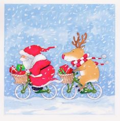 Annabel Spenceley - Cycling Santa