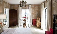 same neural room with baskets in corner and pops of pink..Martensen Jones Home Bedroom, Master Bedroom, Bedroom Decor, Bedrooms, Master Suite, Boudoir, Pretty Room, Interior Design Inspiration, Bedroom Inspiration