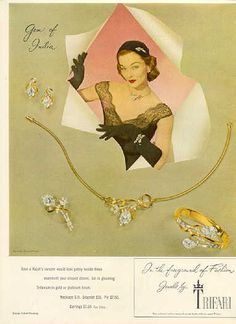 "ZXZX 1951 - TRIFARI - ADS Trifari ""Gems of India"""