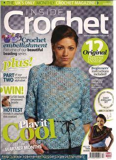 Inside Crochet 17, 2011Hill of Tara shawl - just lovely
