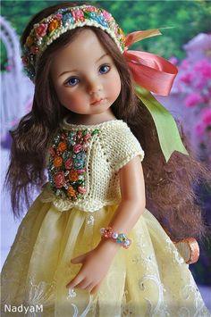 Платье для любимой куклы / Одежда для кукол / Шопик. Продать купить куклу / Бэйбики. Куклы фото. Одежда для кукол Pretty Dolls, Cute Dolls, Beautiful Little Girls, Beautiful Dolls, Girl Doll Clothes, Doll Clothes Patterns, Barbie Kids, Cute Girl Wallpaper, Sasha Doll
