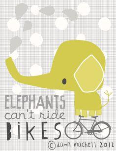 pop-i-cok : elephants can't ride bikes