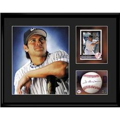 New York Yankees MLB Johnny Damon Limited Edition Lithograph With Facsimile Signature