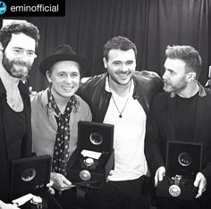 #TakeThat and @eminofficial #Uboatfriend #loveUstyle