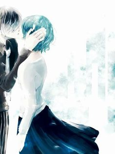Tokyo ghoul | I don't really ship anyone in this anime but this picture is really pretty!