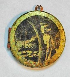 Vintage Nancy Drew Gold Locket