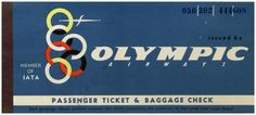 Olympic Airlines, Olympics, Company Logo, Vintage, Pictures, Vintage Comics