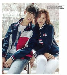 Cha Eun Woo and Kim Doyeon for Tommy Hilfiger