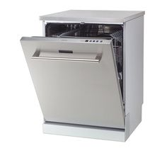 £299 KENWOOD KDW60X13 Full-size Dishwasher - Stainless Steel   Free Delivery   Currys