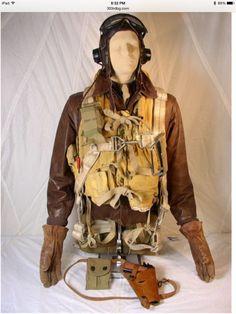 World War Two fighter pilot uniform