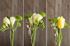 single stem flower arrangements - Google Search