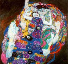Gustav Klimt virgin