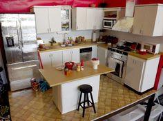 My Barbie kitchen done!