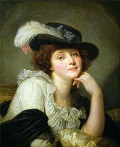 Portrait of Sophie Arnould by Jean-Baptiste Greuze.  Sophie Arnould was one of the most celebrated operatic sopranos of 18th Century France and, for a time, Greuze's muse. A talented actress, Arnould was described by contemporaries as having a clear, beautiful voice.  Indeed, Madame de Pompadour thought the singer a princess.  ~Leah Marie Brown