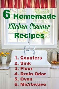 Whether we enjoy it or not, we've got to keep the kitchen clean. But if you want to control the ingredients you introduce into this area of your home, where you cook meals and your family eats, you can...