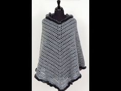 Crochet: Poncho with Hat. The Body