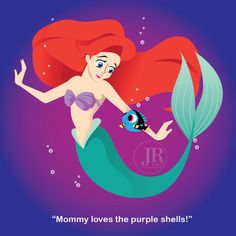 Mommy loves the purple shells by suisei-ojii-sama